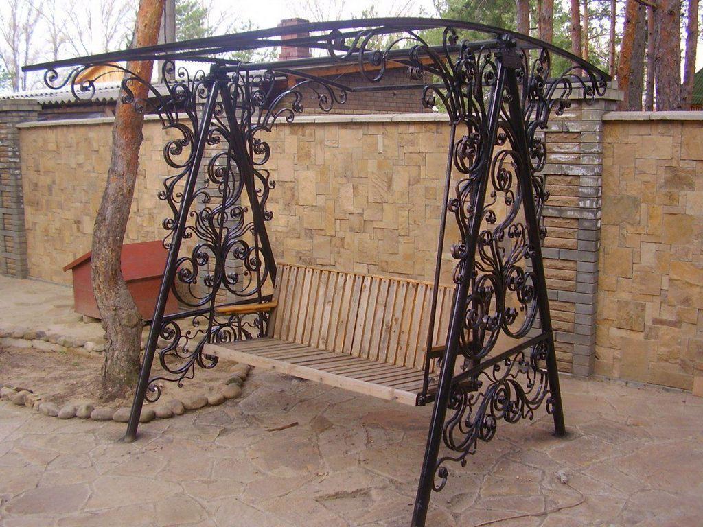 кованые изделия для сада и дачи в Рязани