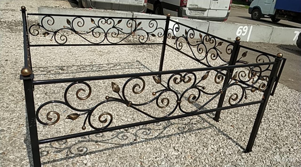 Могильные оградки в Рязани