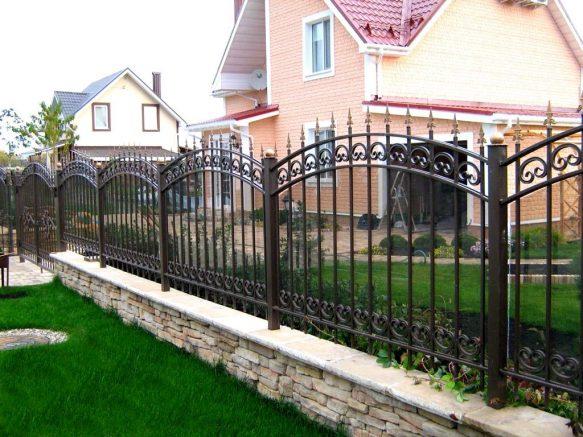 Купить металлический забор