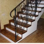 Лестницы из металла, кованые лестницы